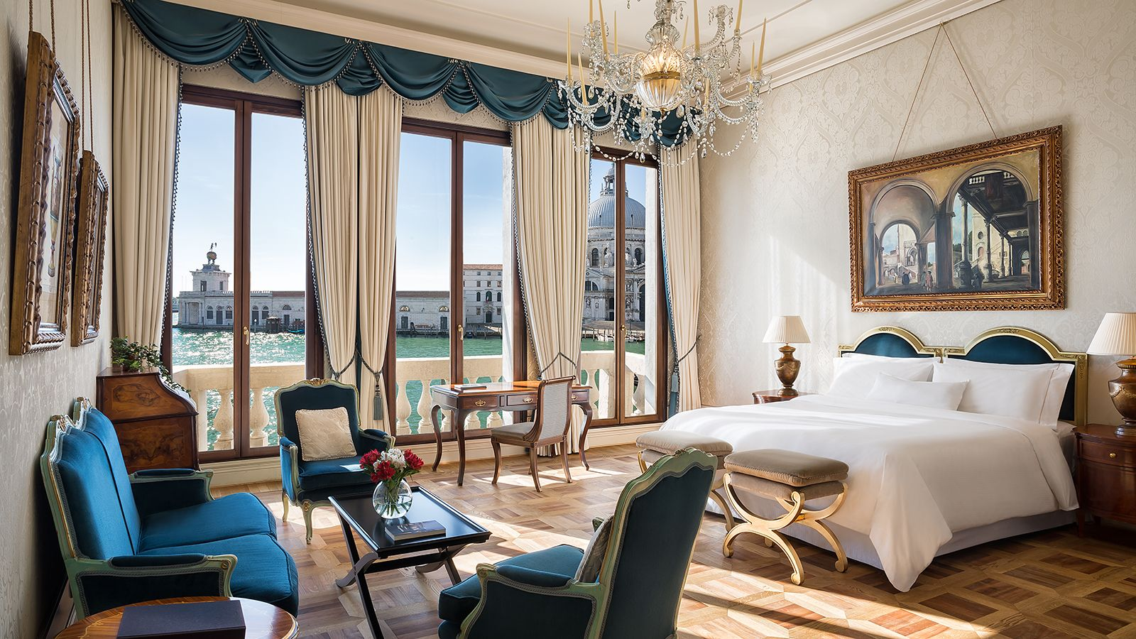 Image of the Grand Canal room at The Westin Europa & Regina, Venice