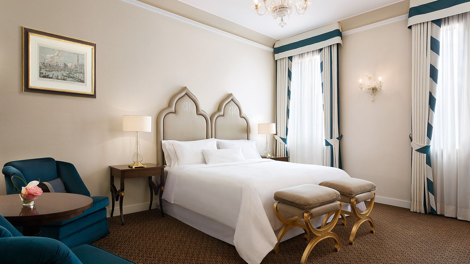 Image of the Grand Deluxe Room at The Westin Europa & Regina, Venice