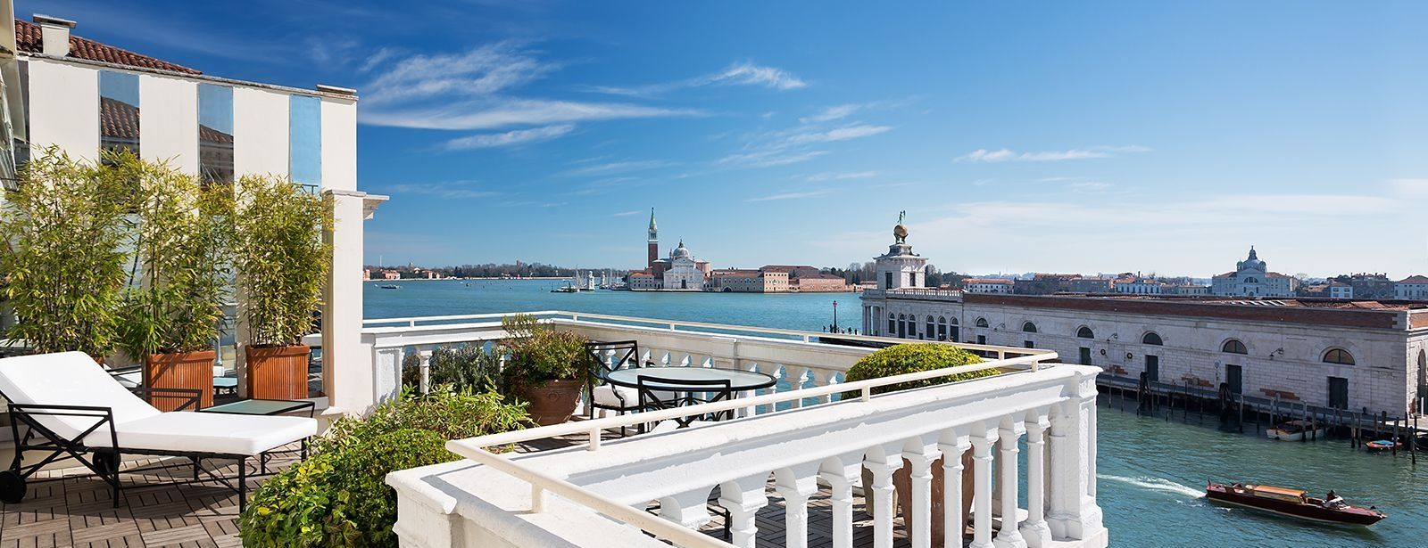View from terrace at the Deluxe Terrace Suite at The Westin Europa & Regina, Venice