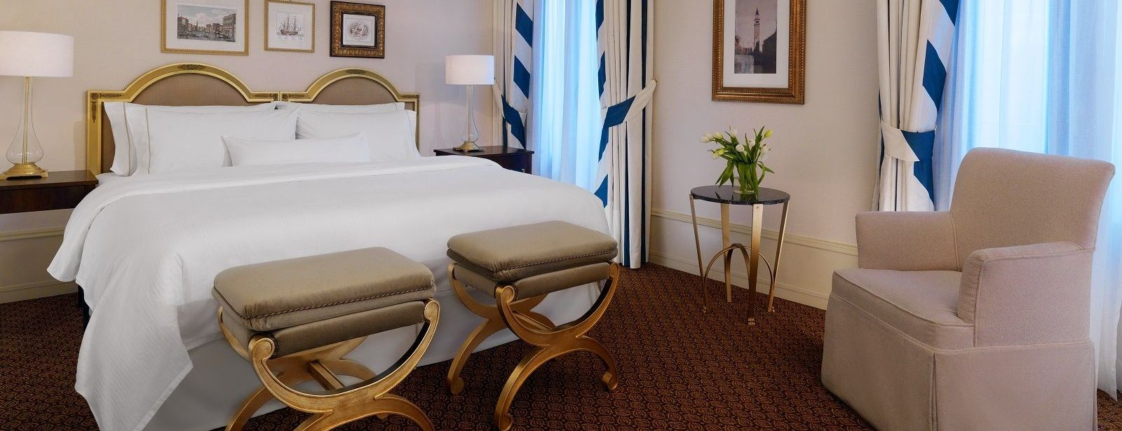 Image of the Deluxe Room at The Westin Europa & Regina, Venice