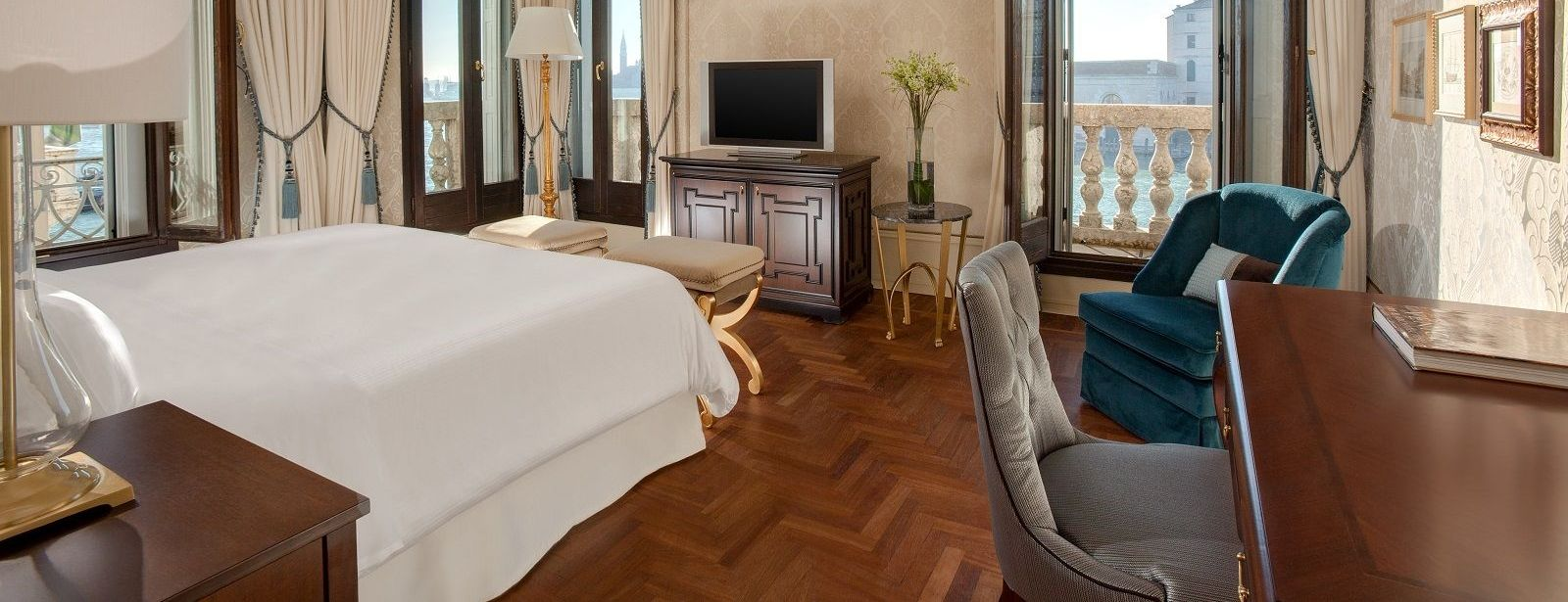 Image of the Stunning Grand Canal room at The Westin Europa & Regina, Venice